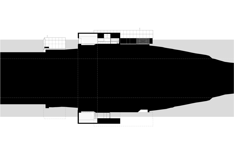 Sections through night pavilion MacKay-Lyons Sweetapple Architects}