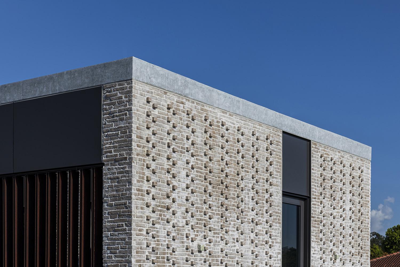 External Brick Facade Marc Tey