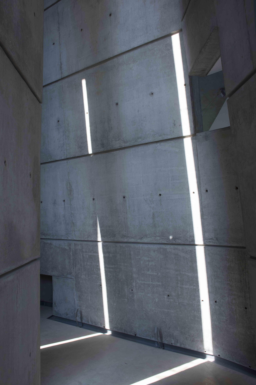 Form finished concrete cavern Pallon Daruwala