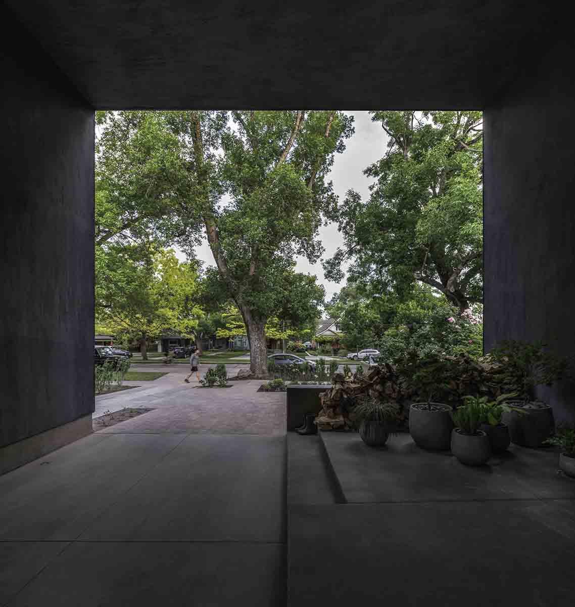 Entrance Facing Out to Street Matt Winquist