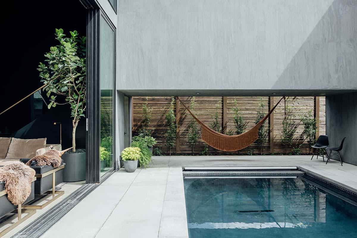 Pool Courtyard Kerri Fukui
