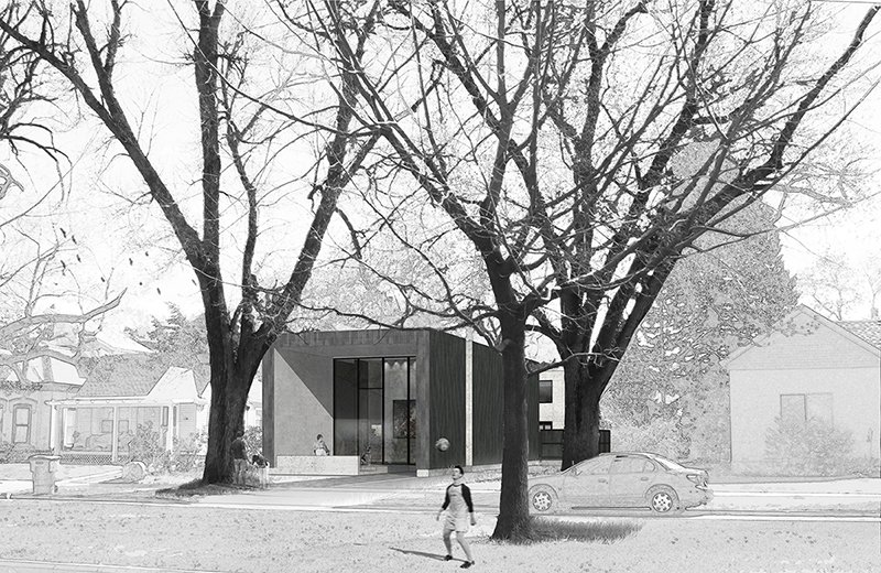 Front Rendering Sparano + Mooney Architecture}