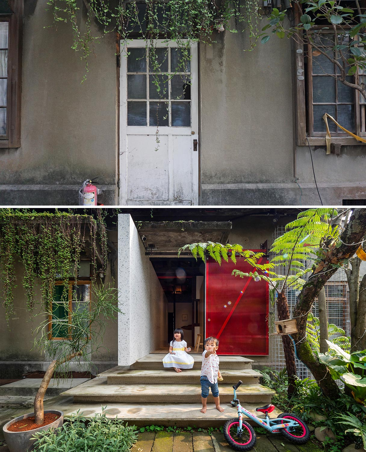 before and after Kuomin Lee}