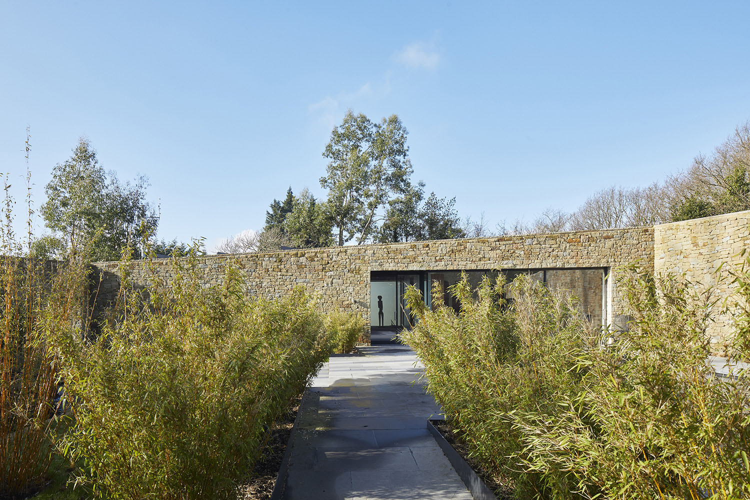 Walled Garden and Pool House Paul Riddle