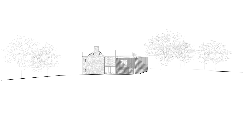 East Elevation Alison Brooks Architects}