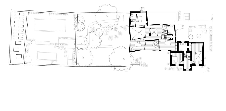 First Floor pLan Alison Brooks Architects}