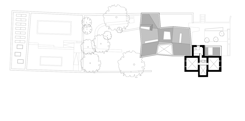 Second Floor Plan Alison Brooks Architects}