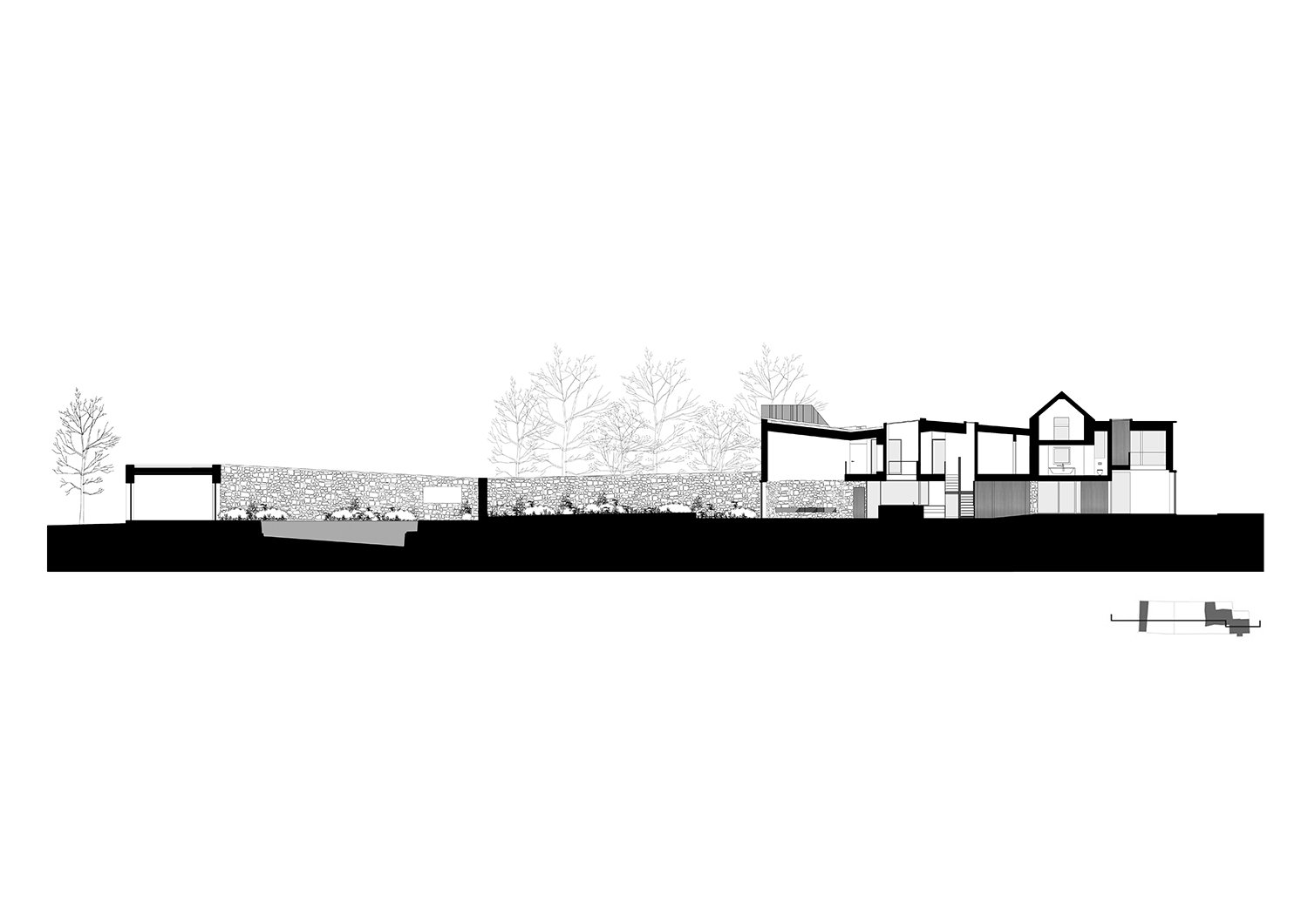 Site Section Alison Brooks Architects}