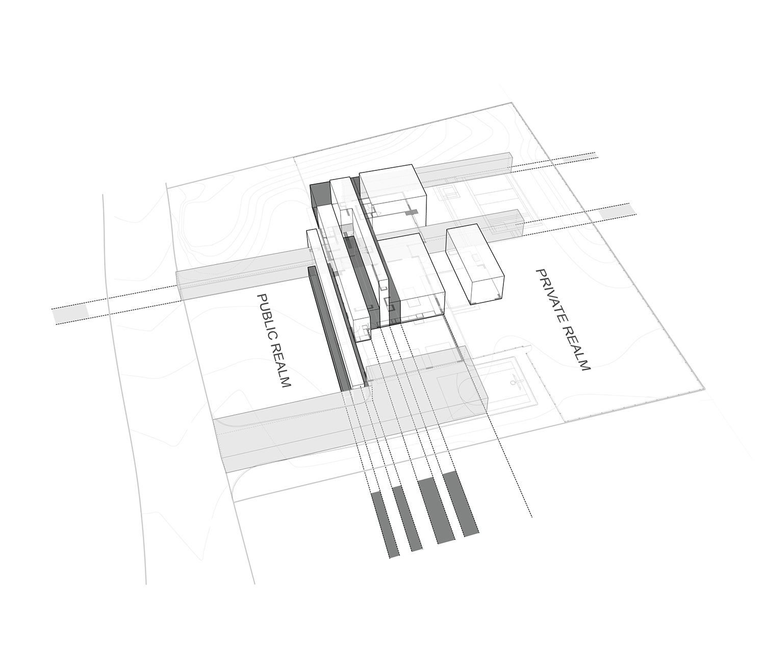 Massing Diagram SPG Architects}