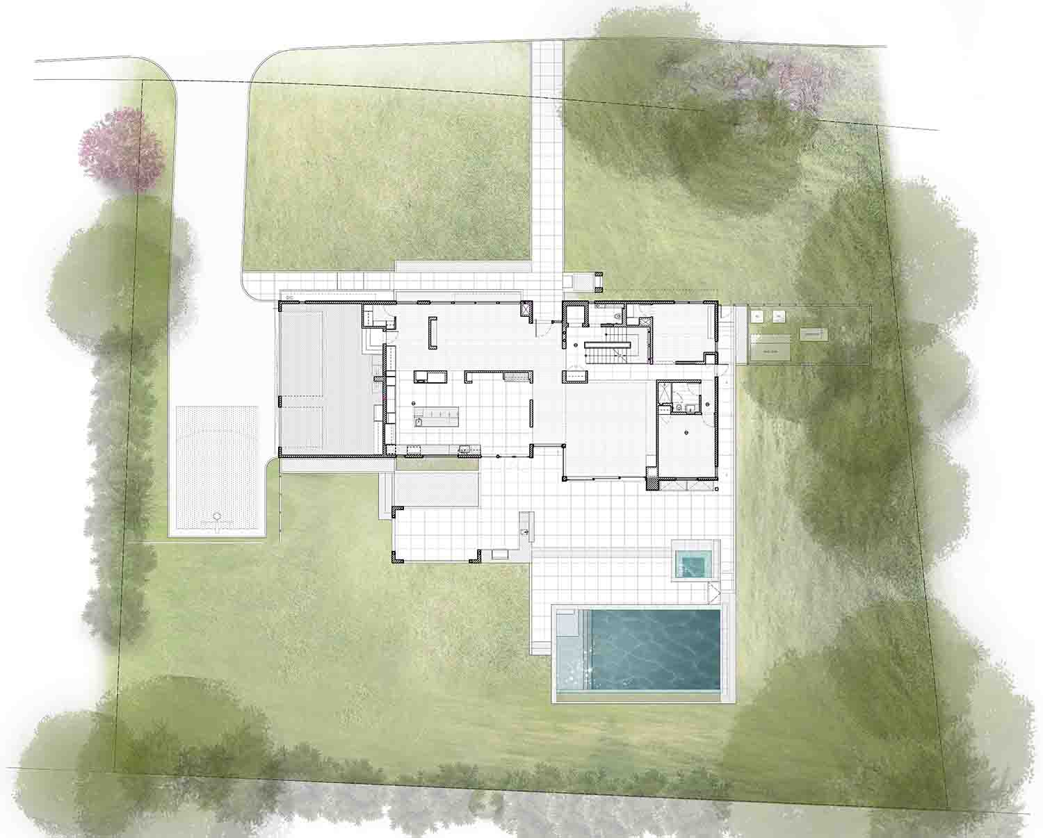 Site Plan SPG Architects}