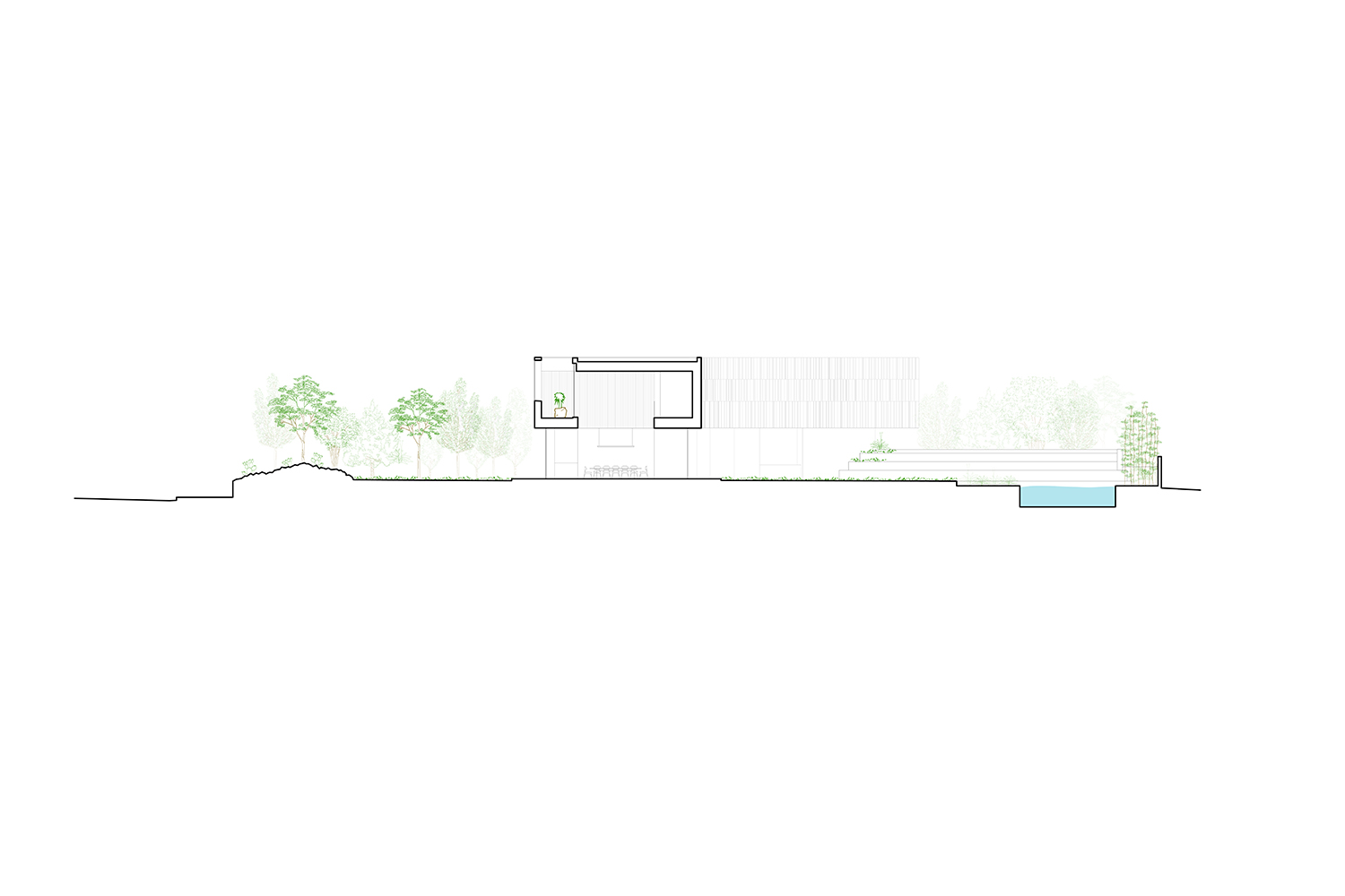 Section 2 Drawing by Alterstudio Architecture}