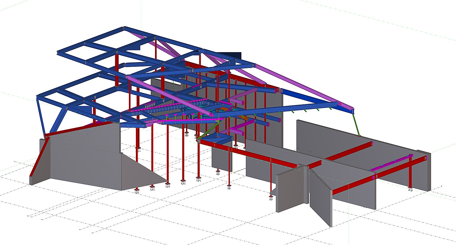 Digital Model: Structural Systems OPA}