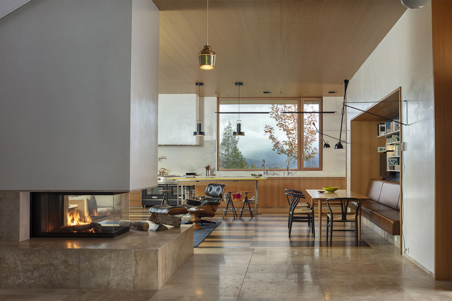 Looking at hearth and kitchen Paul Warchol Photography