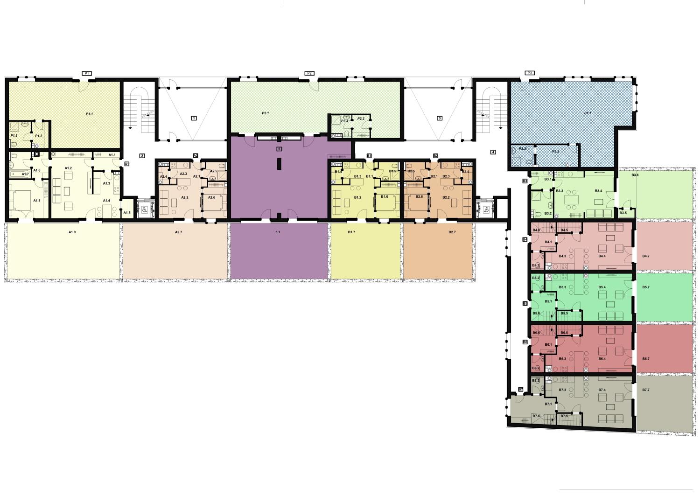 Ground Floor Plan Rechner Architects}