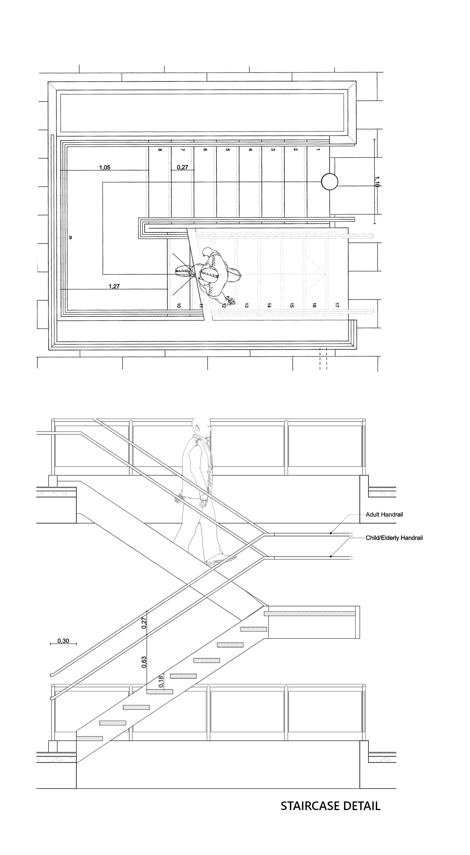Staircase Details Yanniotis & Associates}