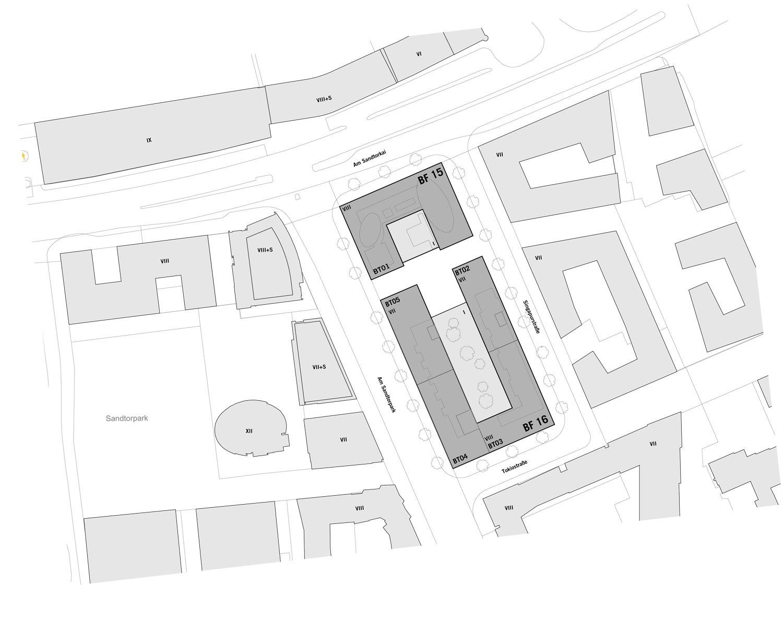 Site plan blauraum}