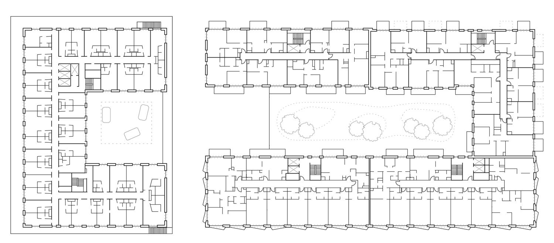 regular floor plan blauraum}