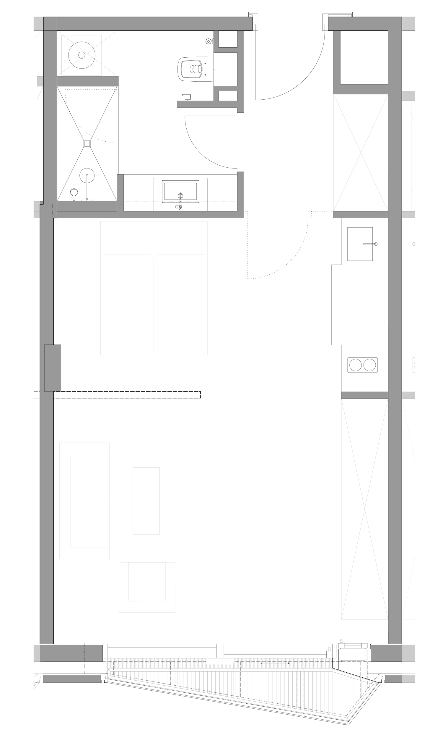 floor plan micro apartment blauraum}