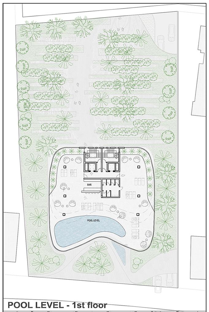 POOL LEVEL - 1st floor EPArchitects