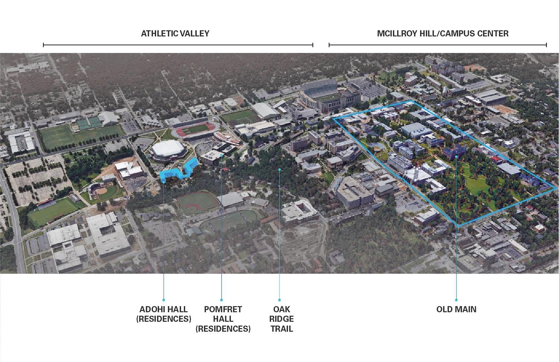 Campus Aerial/Site Location Leers Weinzapfel Associates}