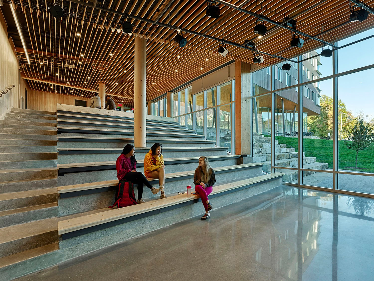 Performance Spaces Follow Slope and Exterior Steps Tim Hursley Photography