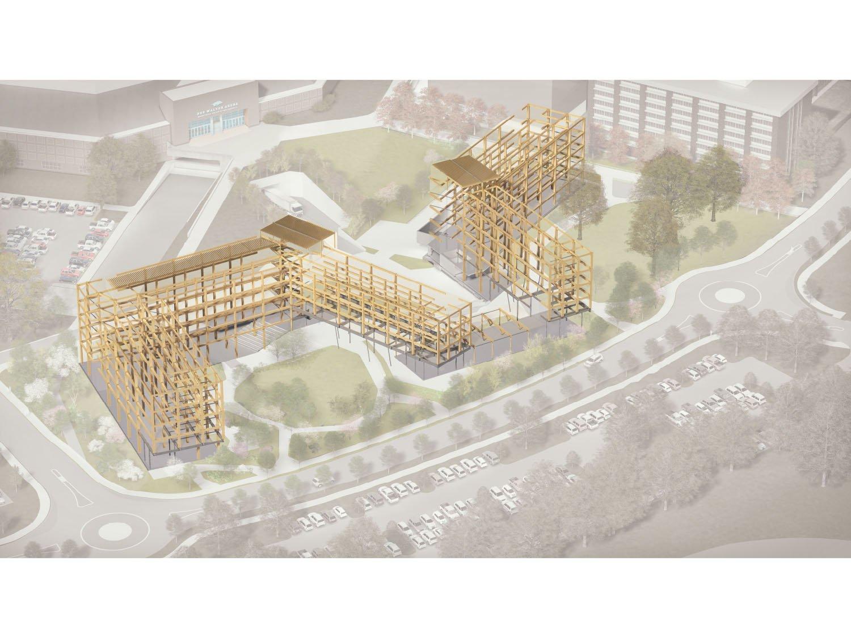 Building Phase, Beams Leers Weinzapfel Associates, OLIN, Modus Studio, Mackey Mitchel}