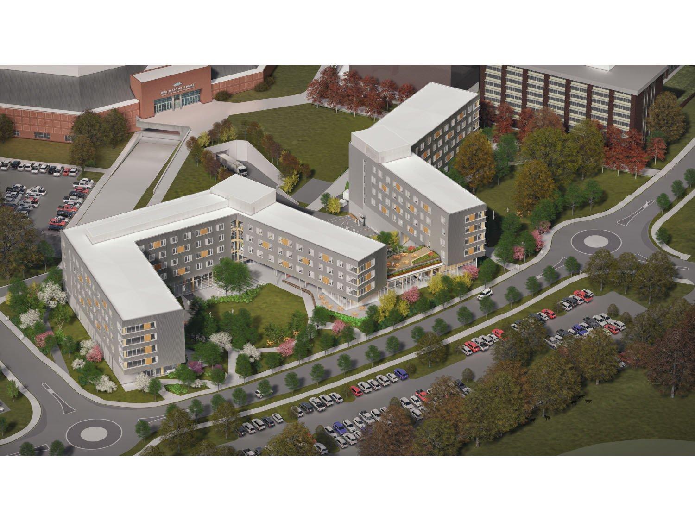 Finalized Building Rendering Leers Weinzapfel Associates, OLIN, Modus Studio, Mackey Mitchel}