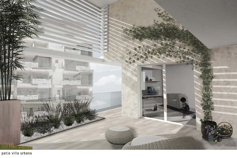 Patio villa urbana PS_Architetture