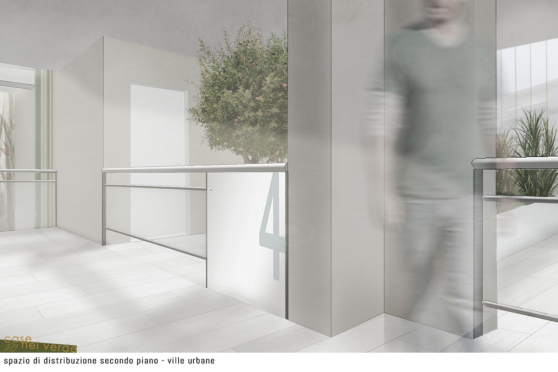 spazio di distribuzione secondo piano PS_Architetture