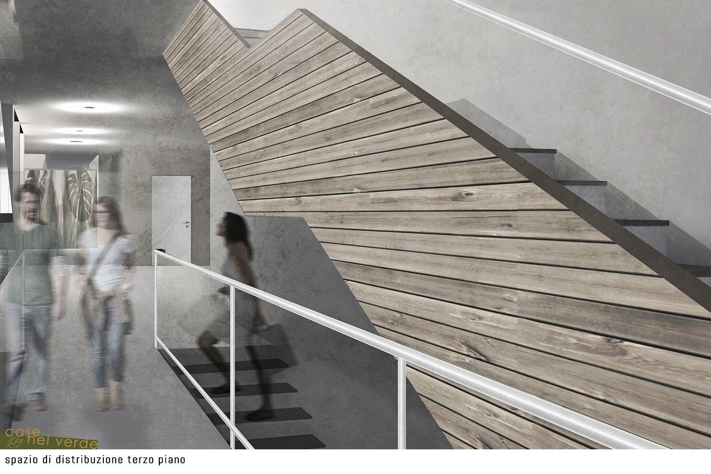 spazio di distribuzione terzo piano PS_Architetture