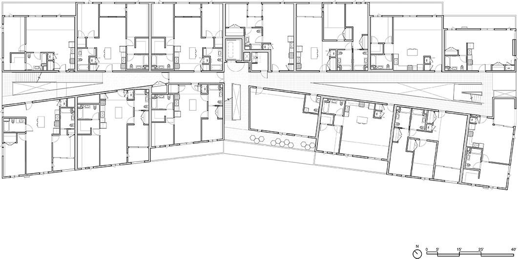 Dillon617 Level 3 Floor Plan Lorcan O'Herlihy Architects [LOHA]}
