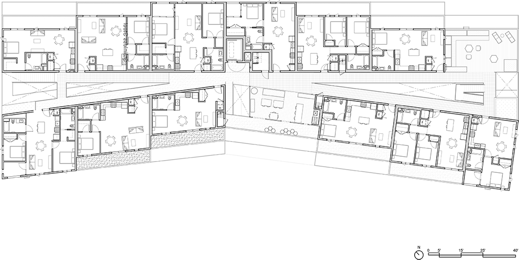 Dillon617 Level 4 Floor Plan Lorcan O'Herlihy Architects [LOHA]}