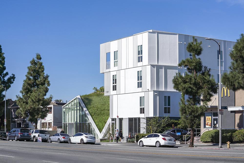 MLK1101 Supportive Housing Streetview Paul Vu Photography