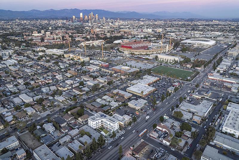 MLK1101 Supportive Housing Aerial Paul Vu Photography
