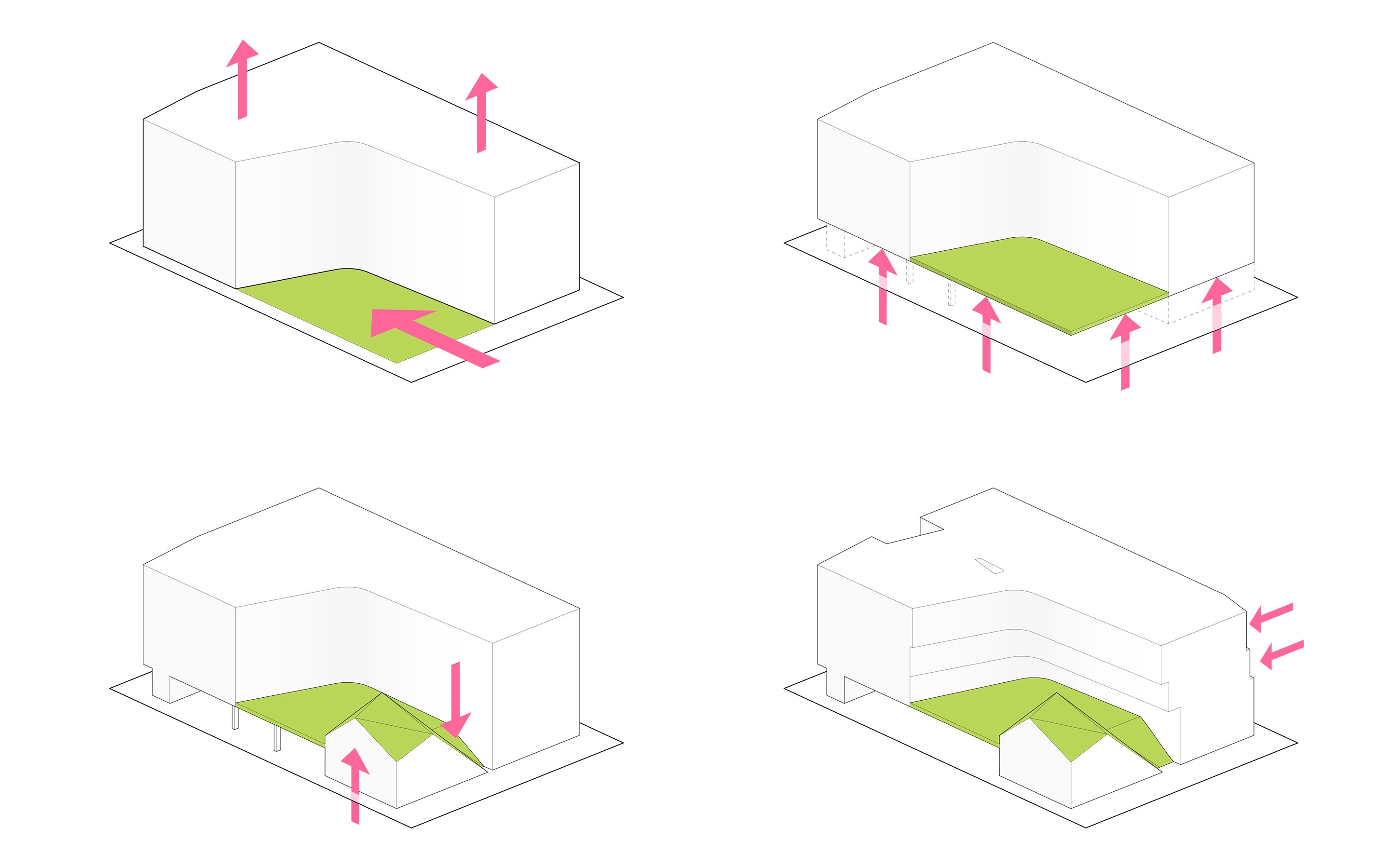 MLK1101 Supportive Housing - Massing Diagrams Lorcan O'Herlihy Architects [LOHA]}