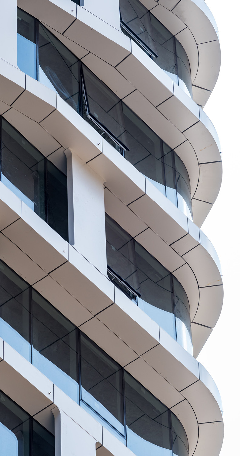 Facade expression Tectonic