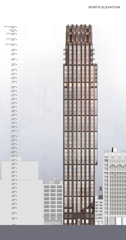Building Elevation CetraRuddy Architecture}