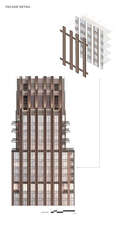 Facade Articulation CetraRuddy Architecture}