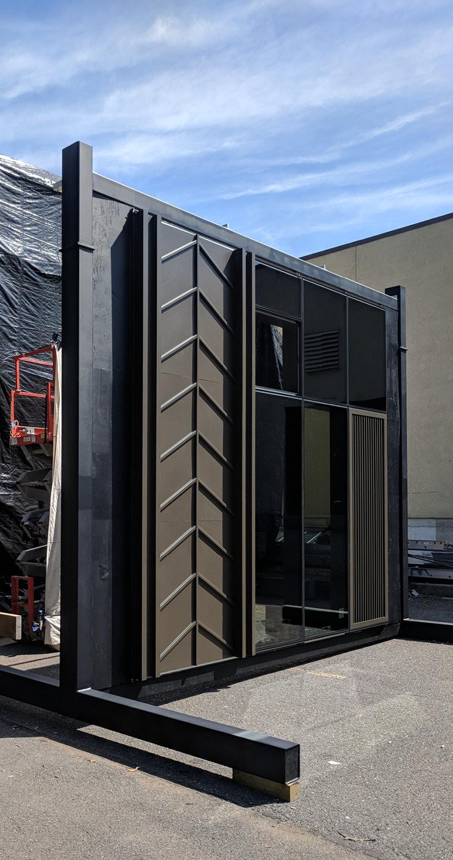 Facade Mock up CetraRuddy Architecture}