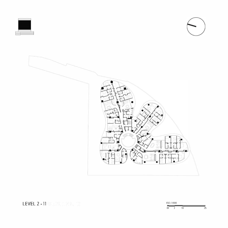 Level 2-11 Miguel de la Torre Arquitectos}