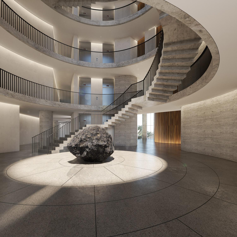 Lobby Miguel de la Torre Arquitectos