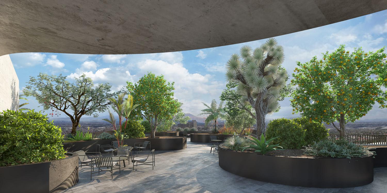 Top Garden Miguel de la Torre Arquitectos