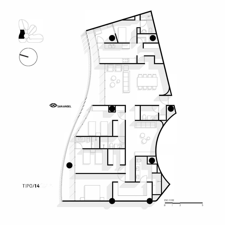 Apartment Type 14 Miguel de la Torre Arquitectos}