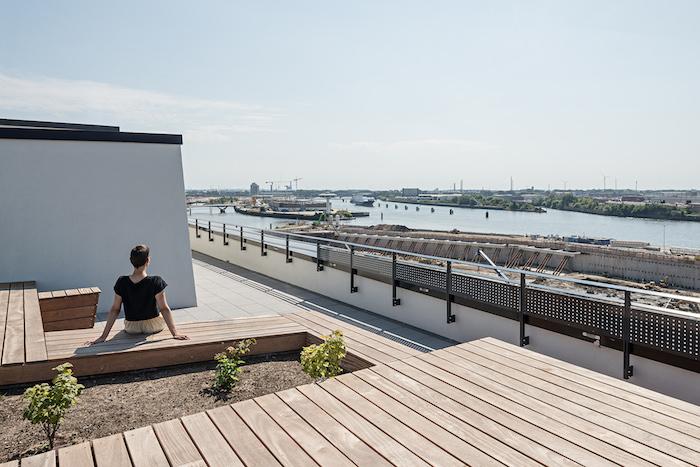 rooftop terrace Hertha Hurnaus