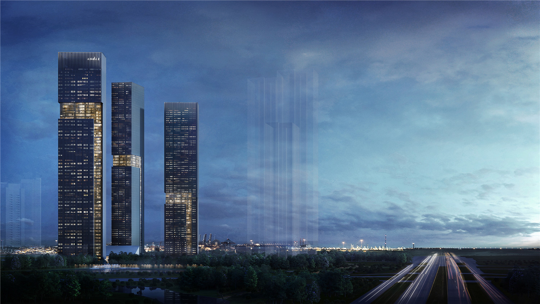 architectural rendering 1 Soo K. Chan