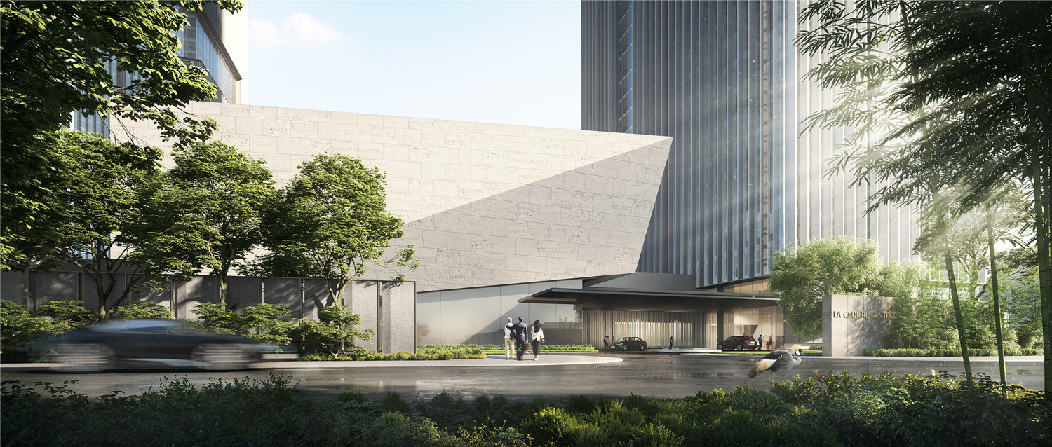 international conference center rendering Soo K. Chan