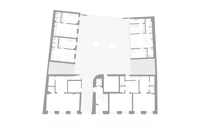 Ground Floor Plan deamicisarchitetti}