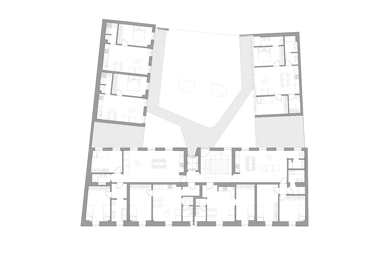 First Floor Plan deamicisarchitetti}