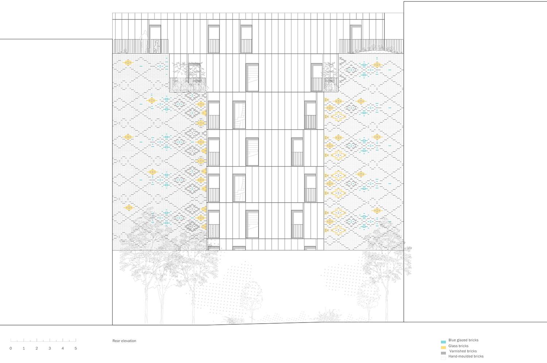 Garden facade Avenier Cornejo}