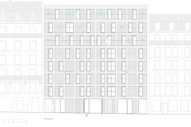 Street facade Avenier Cornejo}